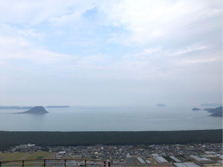 鏡山からの眺望