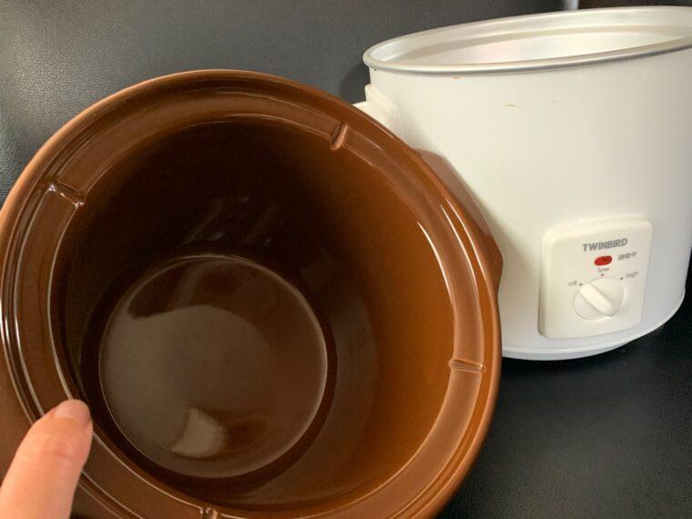 土鍋の様子